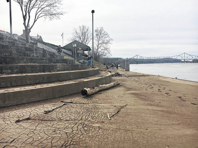 On Monday, workers with the City of Point Pleasant were clearing debris from the Riverfront Park amphitheater left by past flooding. Rain is expected for the rest of the work week, which means the waters may rise again. The National Weather Service (NWS) said periods of rain could result in water issues Wednesday night through Thursday night.