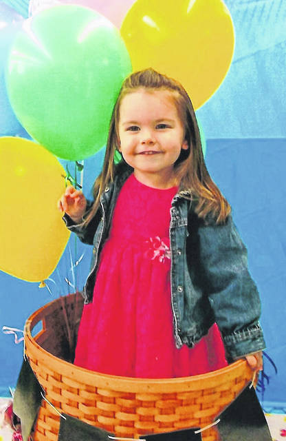 Pictured is Shannon Montgomery, daughter of Wes and Tabithia Montgomery of Vinton, Ohio.