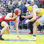 Additional scenes from the WVSSAC wrestling tournament