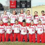2020 Wahama High School softball team
