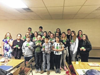 Pictured are members of the Haer Bears 4-H Club.