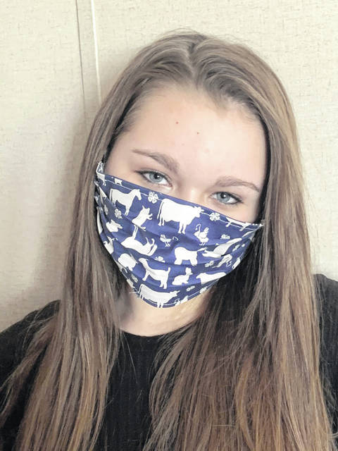 Mason County's Young Miss 4-H Riley Springston has been busy helping her community during the COVID-19 pandemic. She decided to take up sewing and make face masks with filters for as many people as possible. Springston has put in many hours sewing and donating over 100 masks into the community and is still working to produce more masks so she can continue to help keep people safe. Springston has donated masks to many local places such as Mason County PSD office, WIC office, PVH Emergency Room Department, Leon Post Office, Southern States and many individuals.