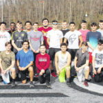 2020 Point Pleasant boys track and field team