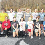 2020 Point Pleasant girls track and field team