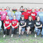 2020 Point Pleasant High School softball team