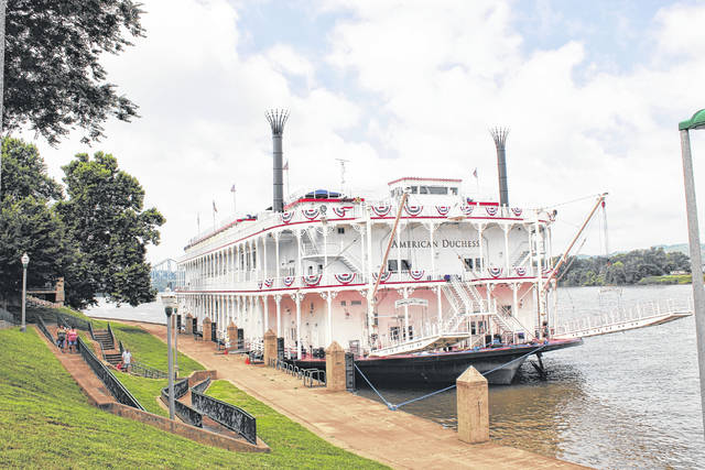 The American Duchess, pictured here, is scheduled to be docked at Point Pleasant Riverfront Park on Sept. 9.