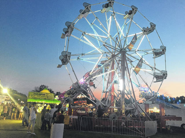 Pictured is a scene from last year's Mason County Fair.