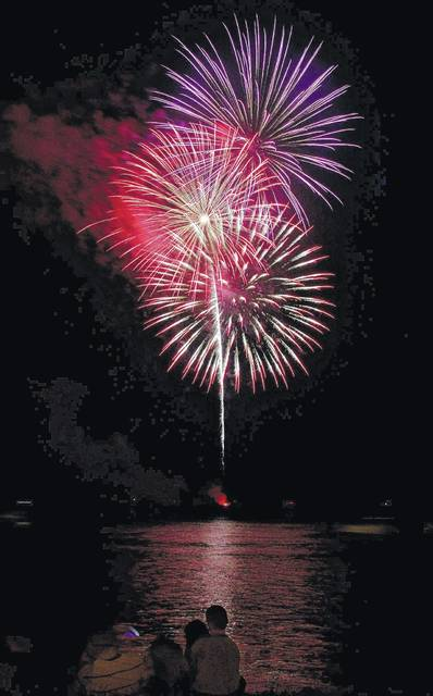 """This year's fireworks display has been sponsored but the Gallipolis River Recreation Festival Committee is in a self-described """"holding pattern"""" at the moment due to the COVID-19 outbreak."""