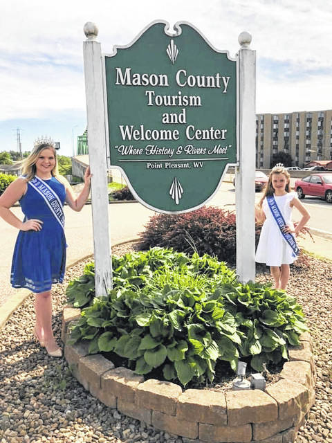 Mary Supple and Kelsey Price are this year's 2020 Mason County Tourism Queens and will spend a year representing the Mason County Convention & Visitors Bureau at area tourism events.