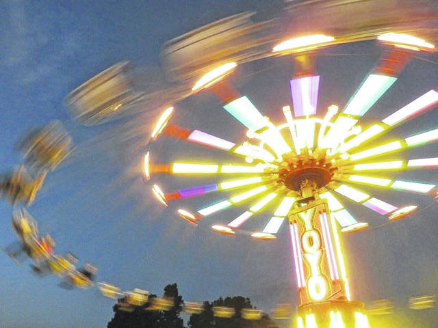 The carnival is traditionally a large part of the Mason County Fair. Pictured is a scene from a past fair. (Beth Sergent | OVP)