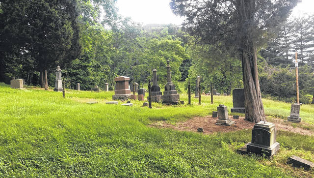 A view of Adamsville Cemetery, located between Mason and Hartford. (Chris Rizer | Courtesy)
