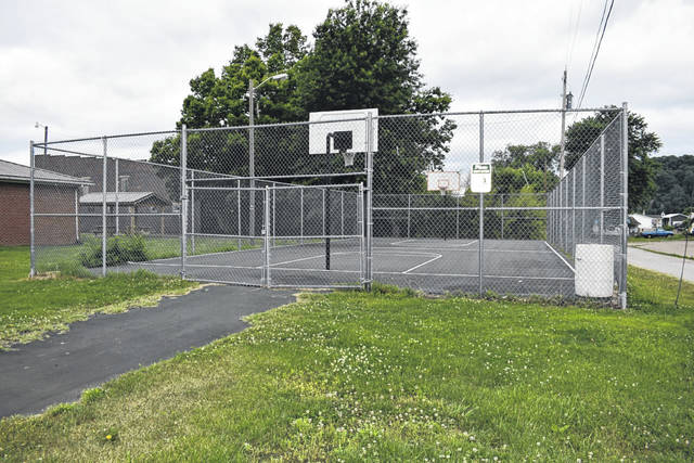 Plans to expand the Mason basketball court has garnered the approval of the town council, after a delegation attended the most recent meeting. The expansion will increase the court to regulation size play. (Mindy Kearns | Courtesy)
