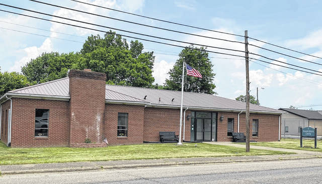 "The Mason Senior Center, at the corner of Second and Horton streets in Mason, pictured, is one of two senior citizen centers in the county handing out ""grab and go"" meals to those age 60 and over each weekday. The meals are offered from 10 a.m. to 1 p.m., and are also given out at the Gene Salem Senior Center, located at 101 Second Street in Point Pleasant. (Mindy Kearns 