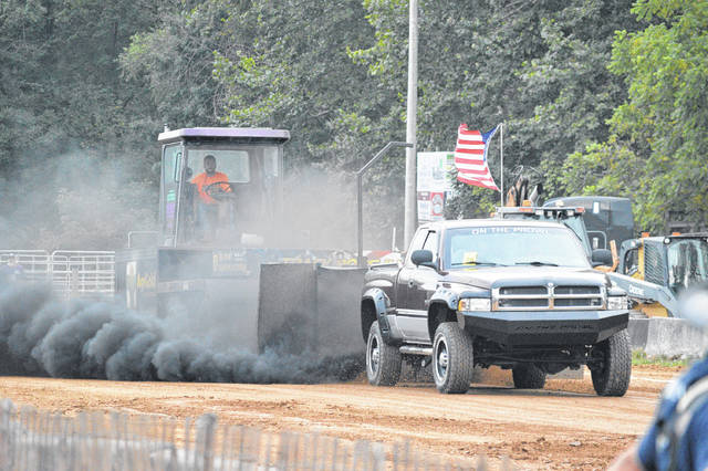 Truck pulls at the Gallia County Jr. Fair. (OVP File Photo)