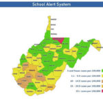 WVDE issues new color to School Alert System Map