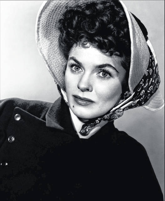 Movie and television actress Joanne Dru.