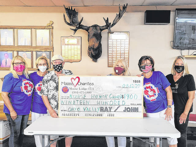 The Moose Lodge #731 of Point Pleasant held its monthly charity bingo on Monday night for the Nurses Honor Guard of the Ohio Valley. (Courtesy)