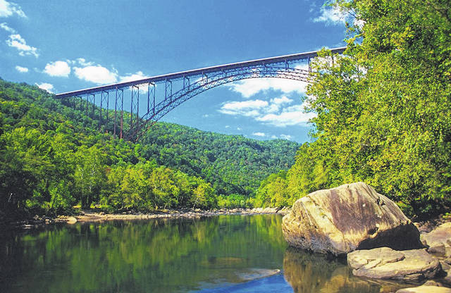 Construction of the New River Gorge Bridge was completed after three years of work. (West Virginia Humanities Council | Courtesy)
