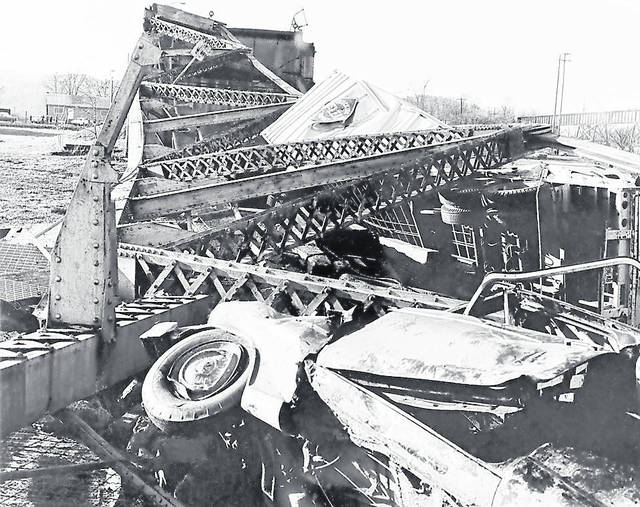 Dec. 15, 1967: The Silver Bridge at Point Pleasant collapsed, killing 46 people. (West Virginia Humanities Council | Courtesy)