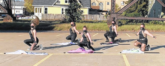 Dancers from Ohio River Dance recently competed in a virtual competition and won four gold awards.