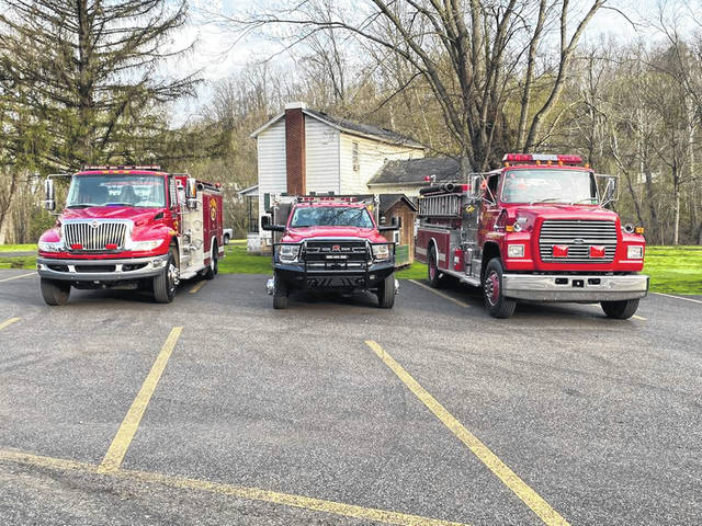 Multiple vehicles from the Flatrock Volunteer Fire Department will be transporting multiple Santas throughout much of its coverage area on Christmas Eve. (FVFD | Courtesy)
