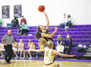 Lady Eagles fall at Waterford, 52-41
