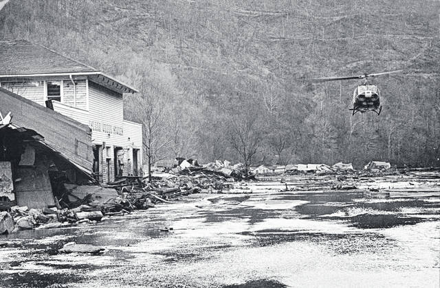Feb. 26, 1972: One of the country's worst mining-related disasters occurred on this date on Buffalo Creek in Logan County.