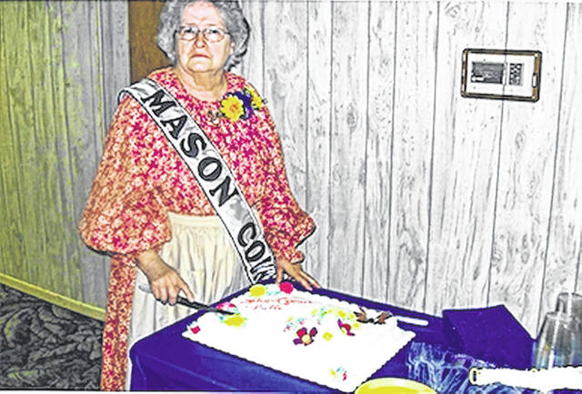 Helen Lyons, pictured here, recently celebrated her 50th anniversary with the CEOS organization.