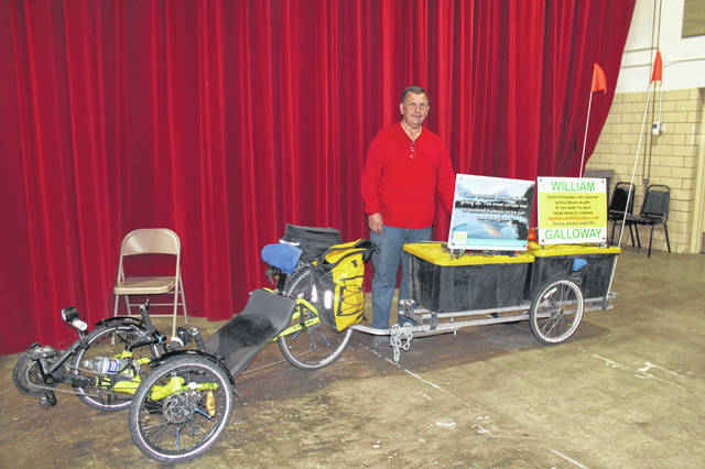 William Galloway is currently on his 9th trek criss-crossing America to raise awareness for traumatic brain injuries.