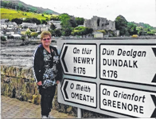 Eleanor Hoffman, a 50-year member of the Mason County CEOS — formerly the Avalanche Farm Women's Club — traveled with the West Virginia University CEOS national outreach to Ireland.