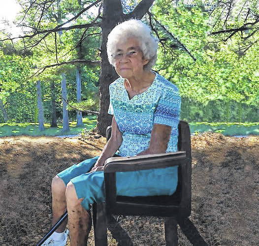The late Margaret Harris Grossnickle is pictured.