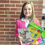 Coloring contest winners