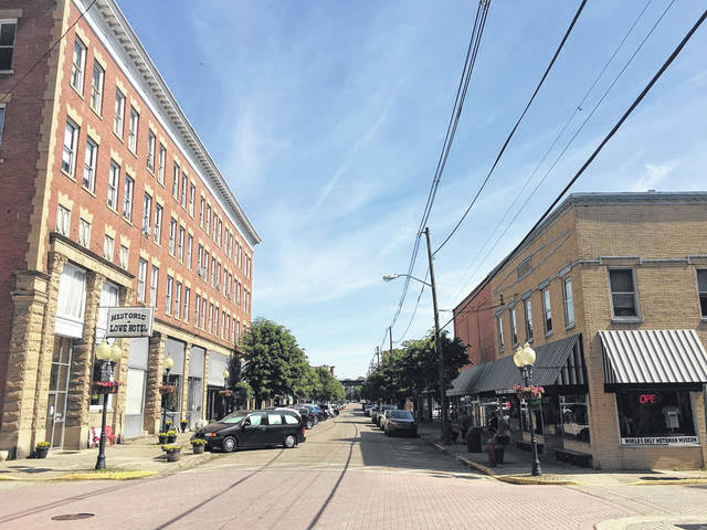 Pictured is the intersection of Fourth and Main streets in downtown Point Pleasant.