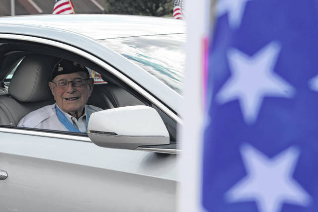 """Hershel """"Woody"""" Williams, pictured, is the sole surviving Marine from WWII to wear the Medal of Honor. He visited Point Pleasant last September to honor a fellow Marine. He will be the special guest at this year's Gallipolis Memorial Day Parade and ceremony, speaking at Gallipolis City Park."""