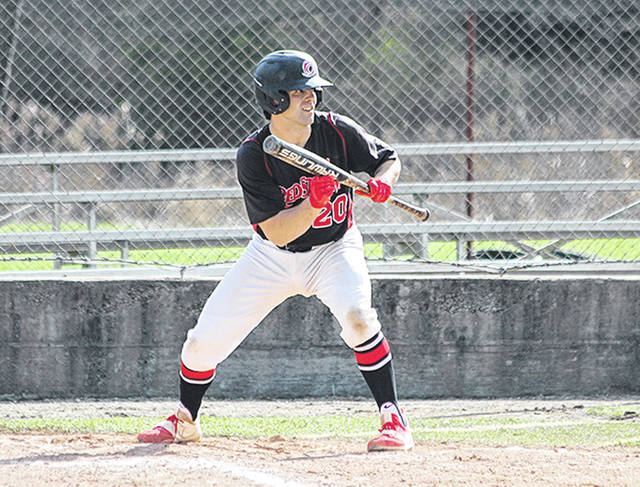 Rio Grande's Billy Cooper had three hits and drove in a career-high six runs in the RedStorm's 11-4 win over Indiana University Kokomo, Friday afternoon, at Municipal Stadium in Kokomo, Ind.