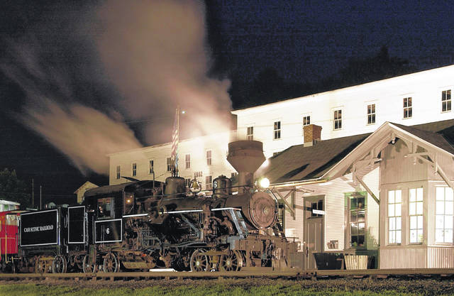 The Cass Scenic Railroad is pictured.