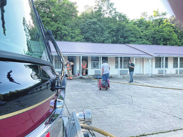Firefighters from Pomeroy, Middleport and Rutland responded to a working structure fire call at the Meigs Motel on Thursday evening. The fire was reportedly contained to the room of origin. Pomeroy also responded to assist at a house fire in Mason, W.Va. Thursday afternoon.