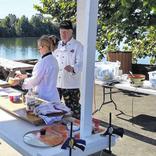 """Local chefs Rick Werner and Jessica Wolfe present """"Gourmet at the Market"""" the first Saturday of each month."""