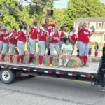 Lady Falcons, Class A State Softball Champions, welcomed home