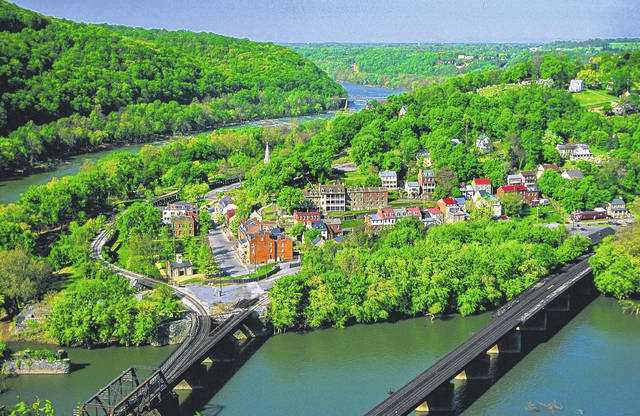 Harpers Ferry National Historical Park is pictured.