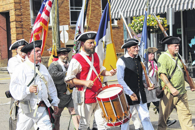 The second Liberty Fest returns to downtown Point Pleasant July 4 with entertainment, food, fireworks and a parade. Pictured is a scene from the inaugural Liberty Fest parade with the Sons of the American Revolution carrying the colors.
