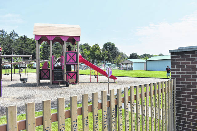 Playground equipment, a splash pad and much more are available for visitors to enjoy.