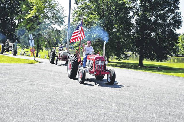 The parade route is 17 miles from the museum to Point Pleasant and back.