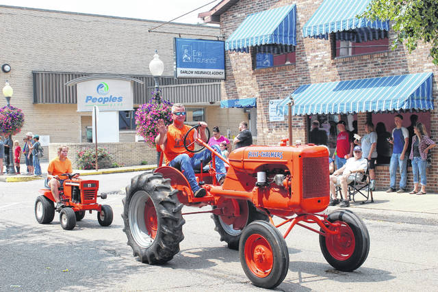 The Mason County Fair began on Monday but its unofficial kickoff was Saturday's Fair Parade, pictured here. More parade photos appear inside and online to celebrate the return of the annual tradition to Main Street in downtown Point Pleasant.