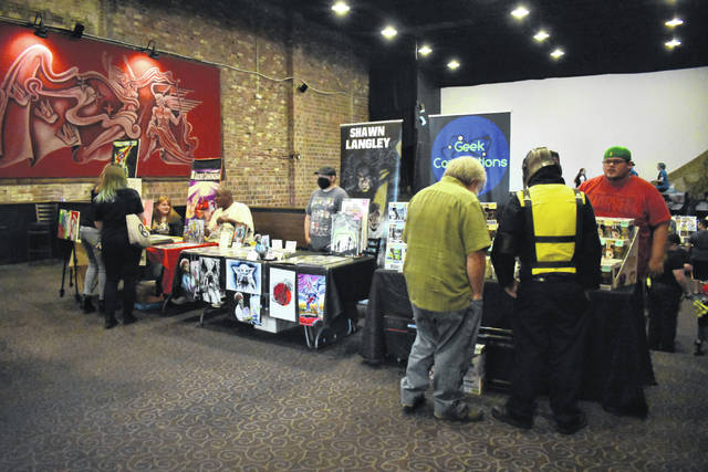 Gallipolis Comics and Creator Convention gave the opportunity for the community to come out and support local artists, creators and small businesses.