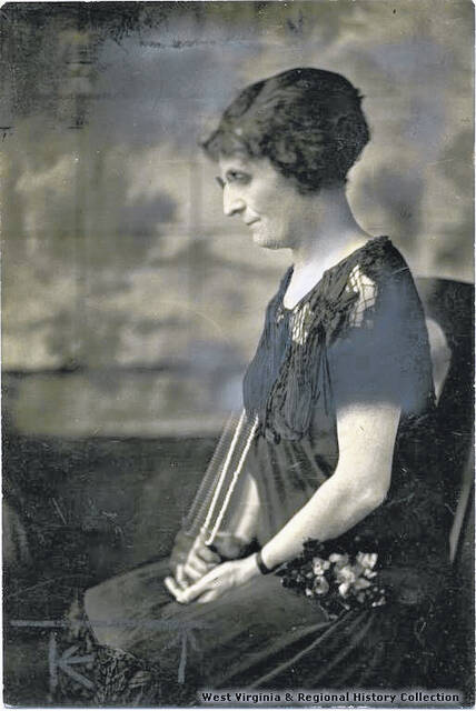 Minnie Kendall Lowther, pictured, was one of the first West Virginia women to become a newspaper editor.