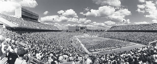 Sept. 6, 1980: The new Mountaineer Field opened in Morgantown with a 41-27 win over Cincinnati.