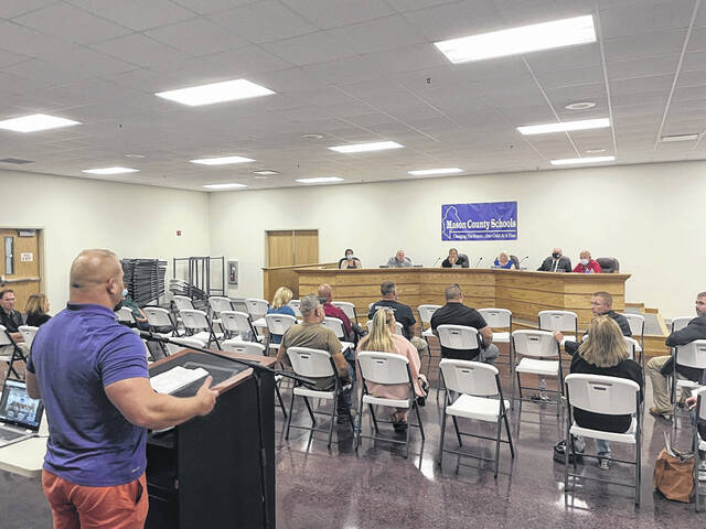 Parents, political representatives, medical professionals and other community members came to the special Mason County Board of Education meeting on Thursday to share their opinions on if masks/face coverings should or should not be mandated.