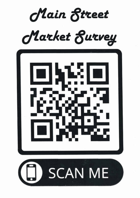 Main Street Point Pleasant, in partnership with Main Street West Virginia and the Downtown Professionals Network, is carrying out a market study to better understand the need and better support local businesses downtown. To access the study, scan the QR code with a cell phone camera.