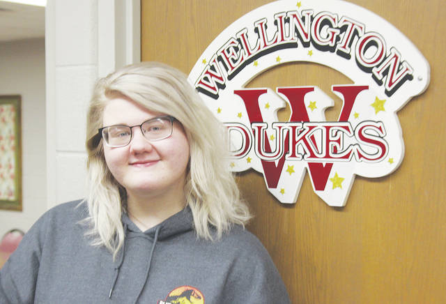 Wellington High School choir member Becca Charlton has been invited to sing at Carnegie Hall in February for the High School Honors Performance Series.